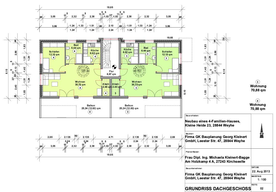 exklusive eigentumswohnungen in zentraler lage in kirchweyhe gk bauplanung georg kleinert gmbh. Black Bedroom Furniture Sets. Home Design Ideas