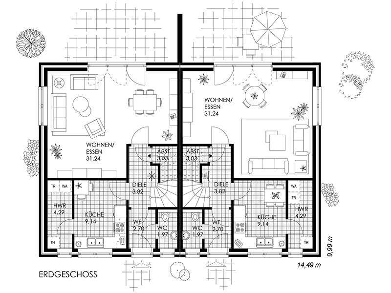 grundriss eg doppelhaus 02 grossjpg pictures. Black Bedroom Furniture Sets. Home Design Ideas